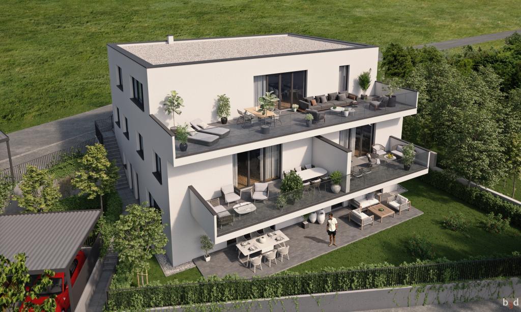 Living Oberpuchenau # Gartenwohnung  inkl. 2 Autoabstellplätze 4048 Puchenau (Linz), Etagenwohnung